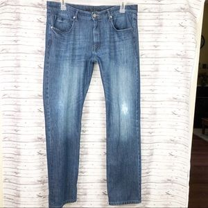 DL1961 Vince Jeans Distressed Straight Leg 38 x 34